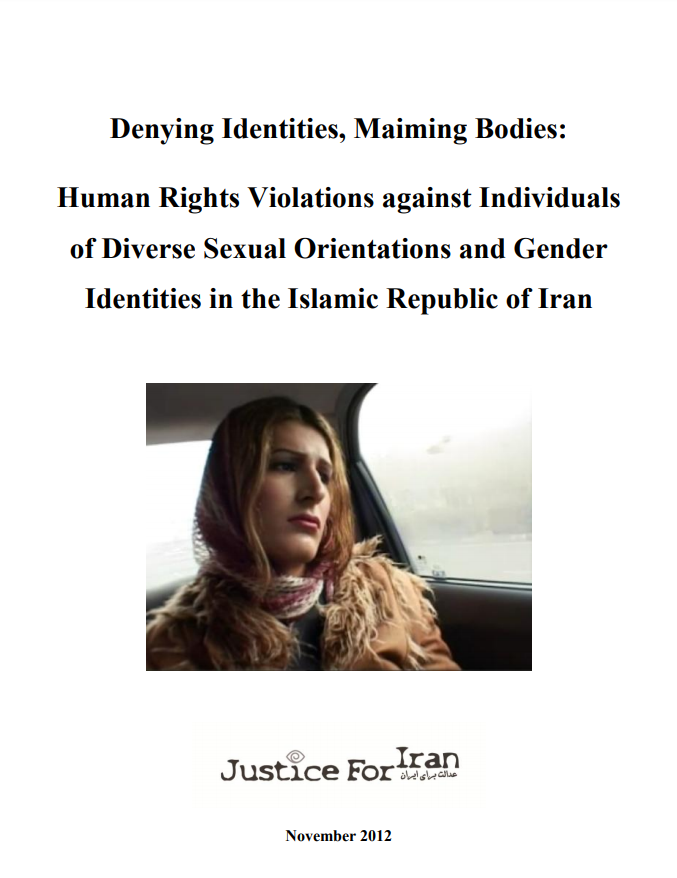 Human rights violations against individuals of diverse sexual orientations and gender identities