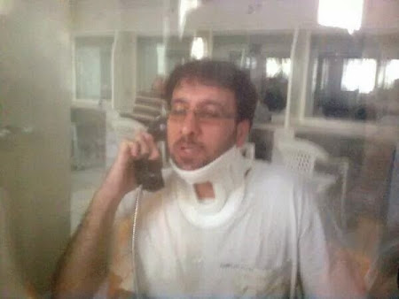 Akbar Amini was attacked on ward 350 prisoners