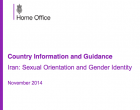 Country Information and Guidance Iran: Sexual Orientation and Gender Identity