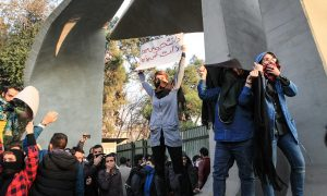 Justice for Iran calls for Iranian officials to be sanctioned for brutal suppression of protesters