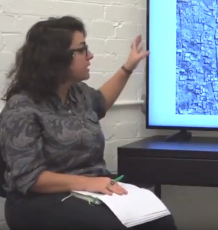 Syria Destruction and Reconstruction; a talk by Sawsan Abou Zainedin and Hani Fakhani